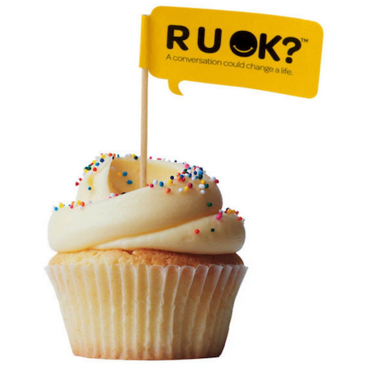 Cupcake Flags - R U OK? Merchandise