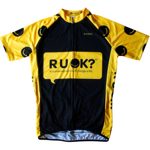R U  OK? Cycling Top by SCODY