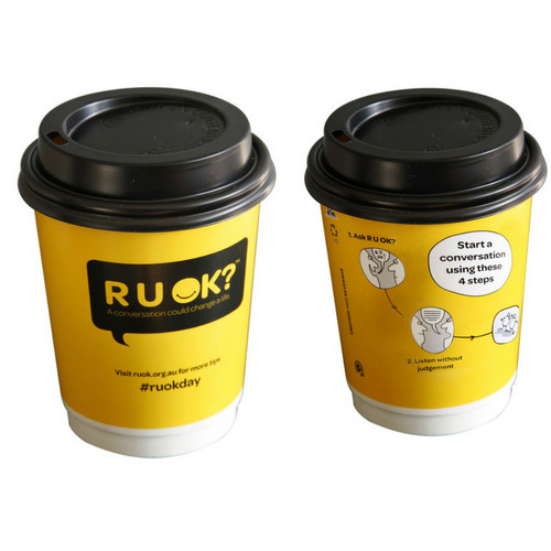 Pack of 25 Biodegradable Coffee Cups