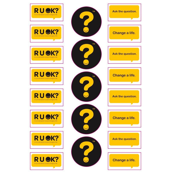 Pack of 10 Sticker sheets