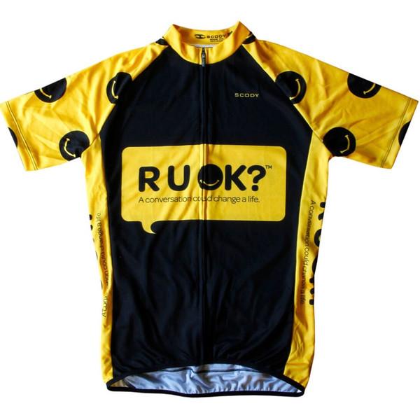 R U  OK? Cycling Top by SCODY