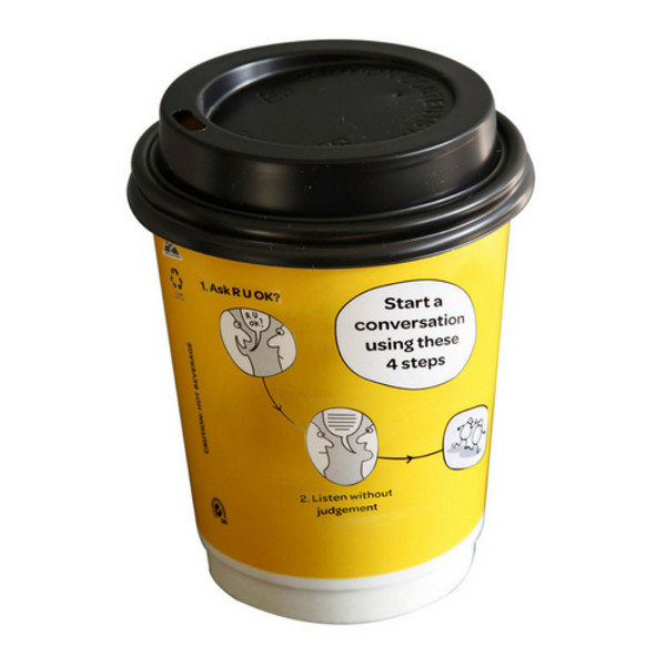 Pack of 25 Disposable Coffee Cups