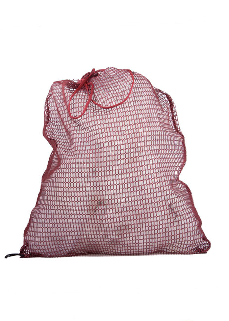 Laundry bag with cord - maroon (60023)