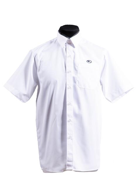 Beechwood Senior boys summer short sleeved shirt - twin pk (37038)