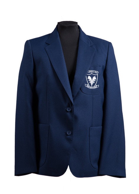 Highsted Grammar blazer with badge (62070)