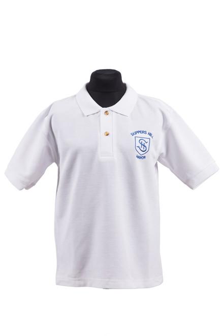 Skippers Hill white polo shirt (37175)