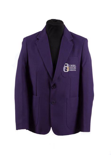 Oriel HS boys blazer - 100% polyester blazer  (33264)