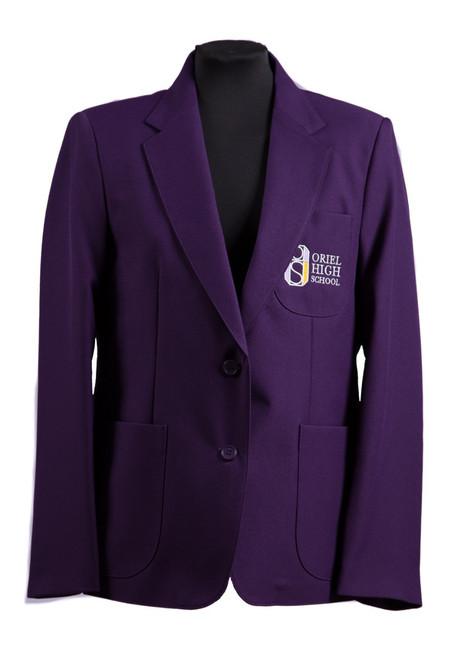 Oriel HS girls blazer - 100% polyester blazer (62007)