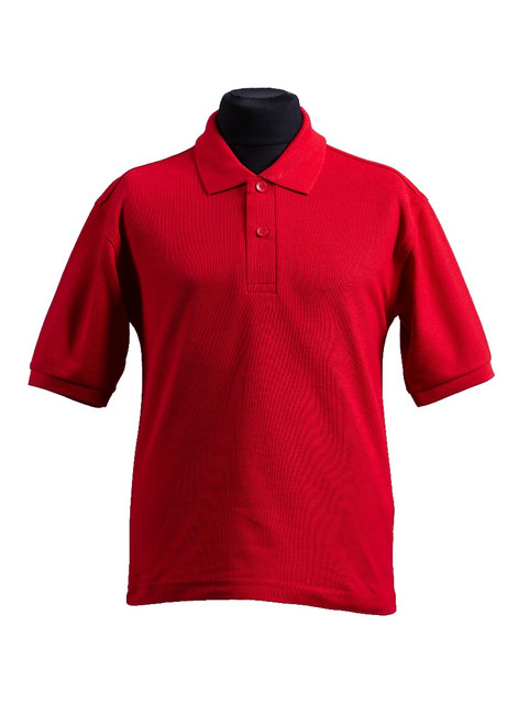 Cumnor House red polo shirt (37150)