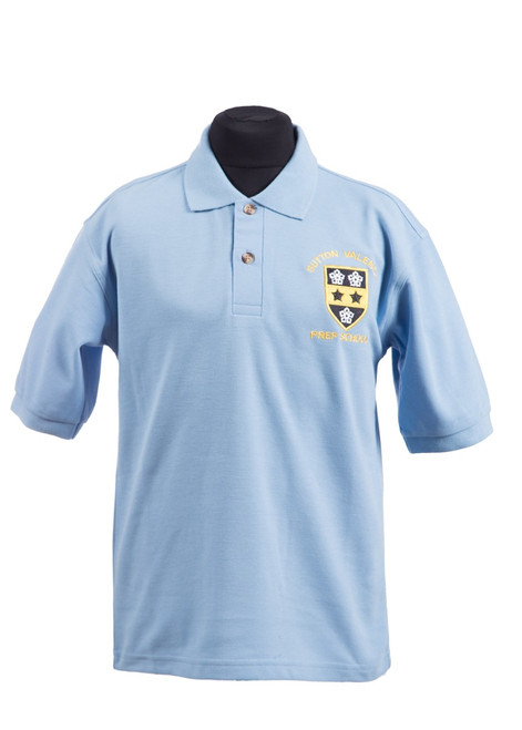 SVPS Sports polo shirt (37100) - Reception - yr 6