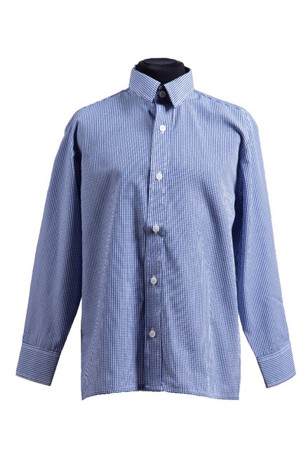 Dulwich L/S gingham shirt - twin pk (37035)