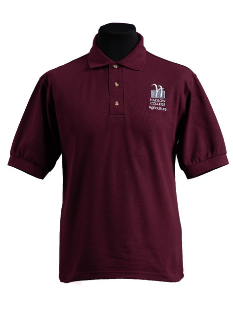 Hadlow College Agriculture polo shirt (37549)