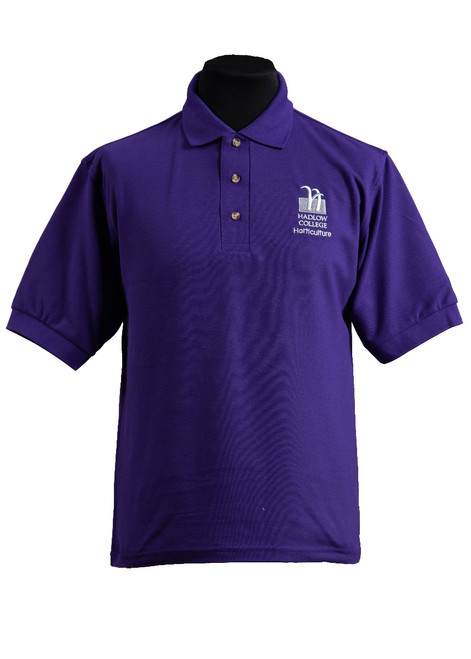 Hadlow College Horticulture polo shirt (37548)