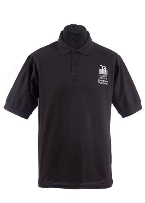 Hadlow College Agriculture Engineering polo shirt (37544)