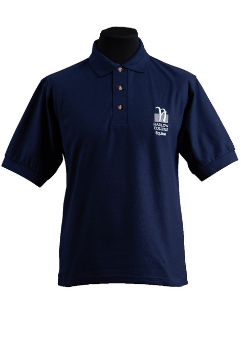 Hadlow College Equine polo shirt (37543)