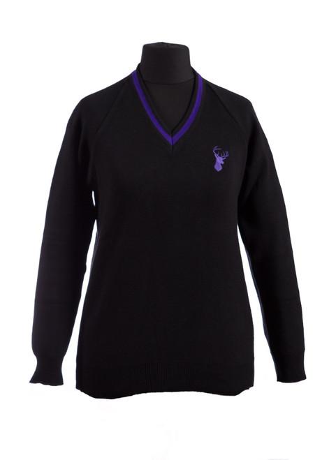 Cornwallis Academy v-neck jumper (36096)