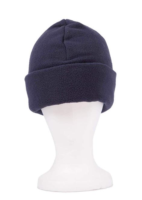 Navy fleece hat (31207)