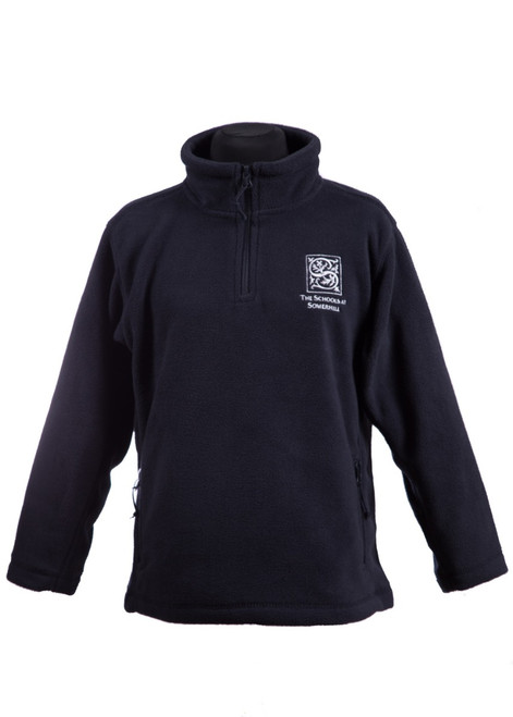 Somerhill navy fleece (34086)