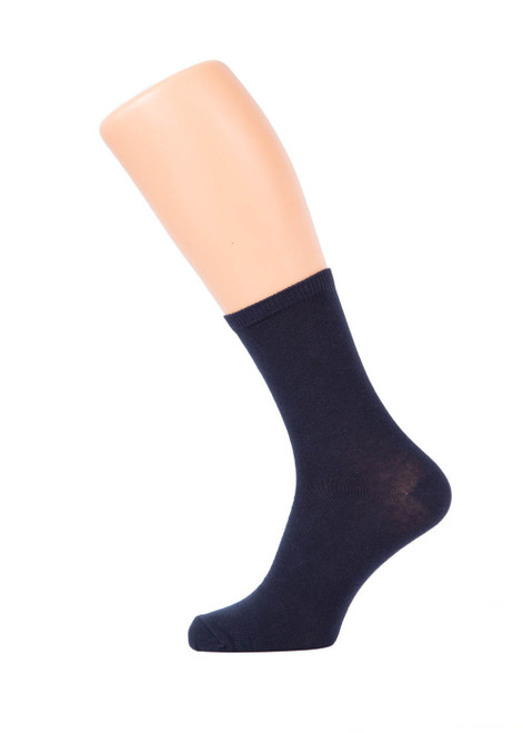 Navy socks - 3 pk (35042)