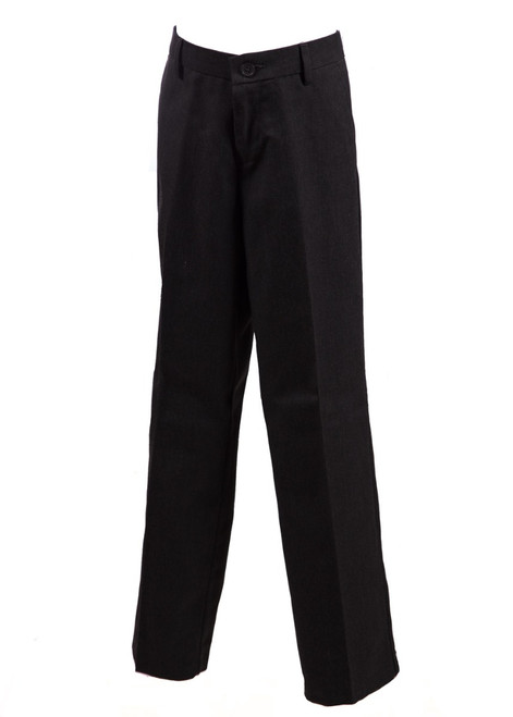 Mid-grey pull-up trousers (47036)