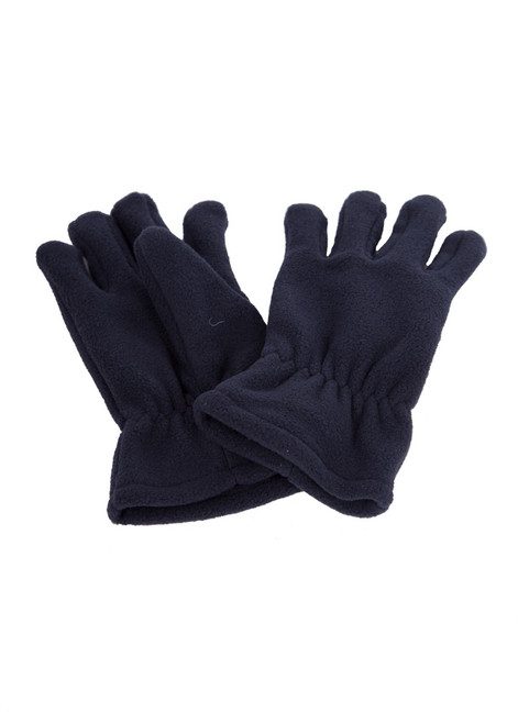 Navy fleece gloves (60333)
