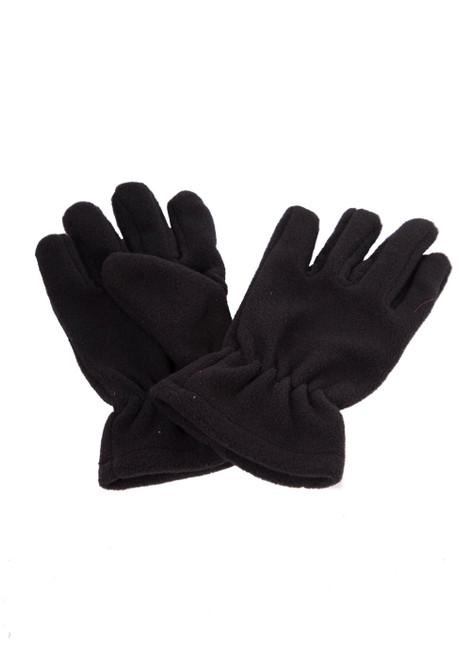 Black fleece gloves (60342)