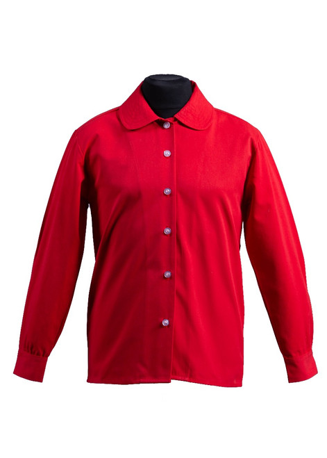 Cumnor House red blouse (63234)