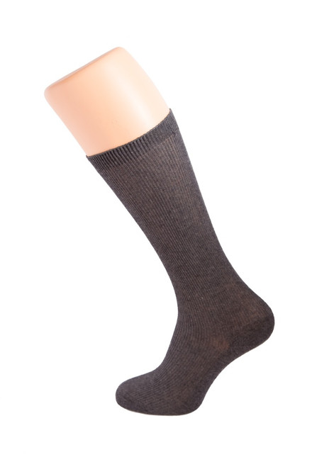 Dark grey kneesocks (67072)