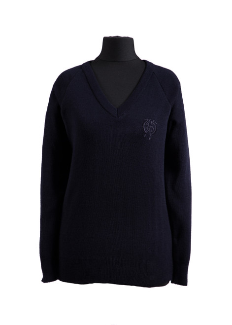 WGHS jumper with blue logo (68348)