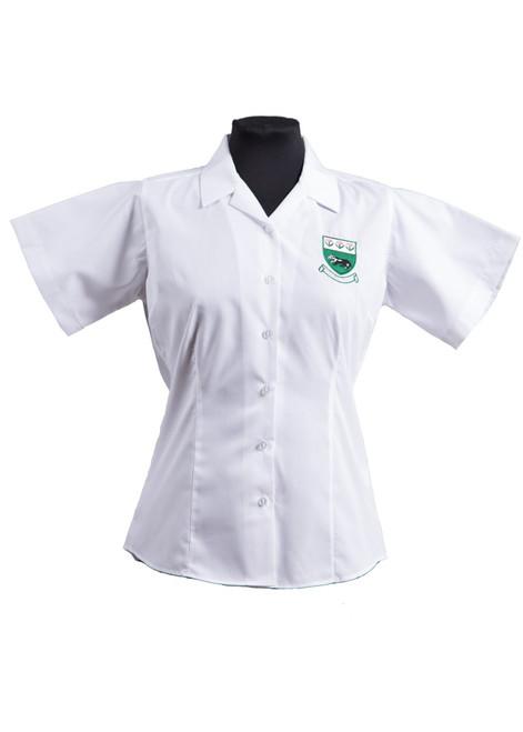 Bennett badged blouse - twin pk (63224)