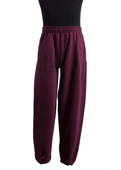 Battle Abbey maroon sweatpants (43902)
