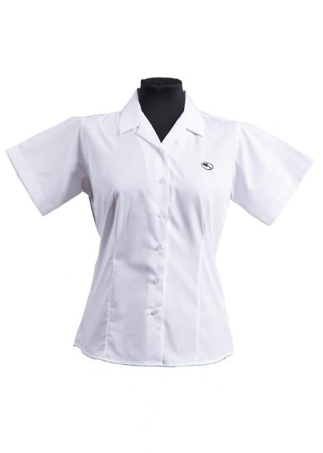 Beechwood Senior summer short sleeved blouse - twin pk (63414) - yr 7 -11