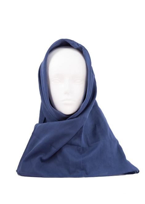 Navy head scarf (60542)