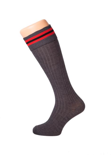 Cumnor House grey socks (35062)