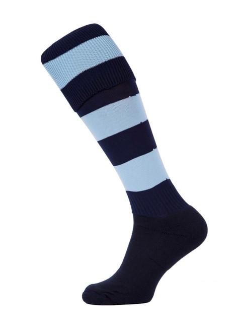 Dulwich hooped sports socks (40181)