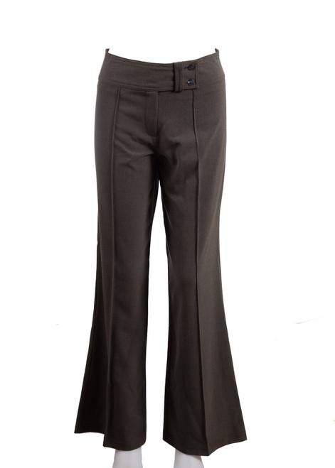 Grey bootleg trousers (77111)