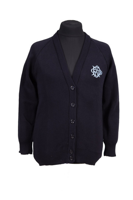 Dulwich navy cardigan (68137)