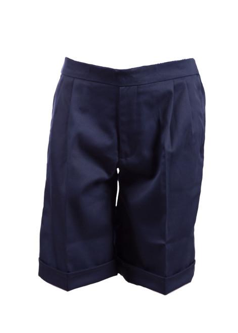 Navy pull up summer shorts (38007)
