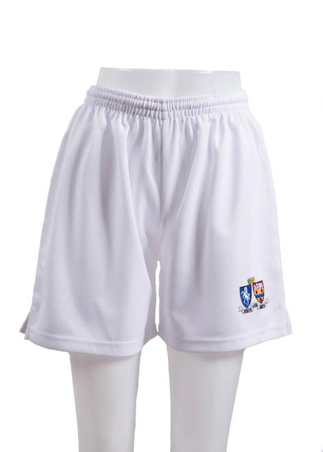 OPGS white PE shorts (43371)
