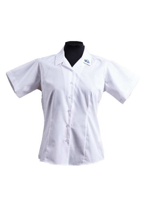 TWGGS blouse - twin pk - yr 7- 11 (63136)