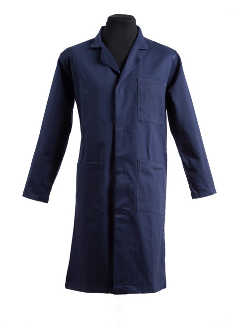 Navy lab coat (31014)