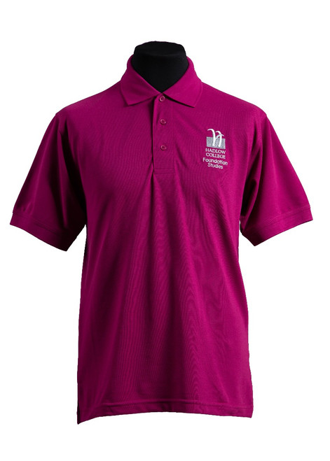 Hadlow College Foundation polo shirt (37550)