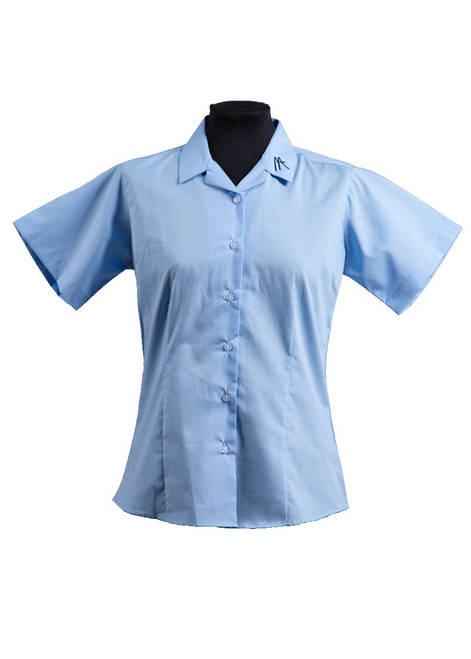 Mascalls Academy blouse with logo  (63008) - twin pack