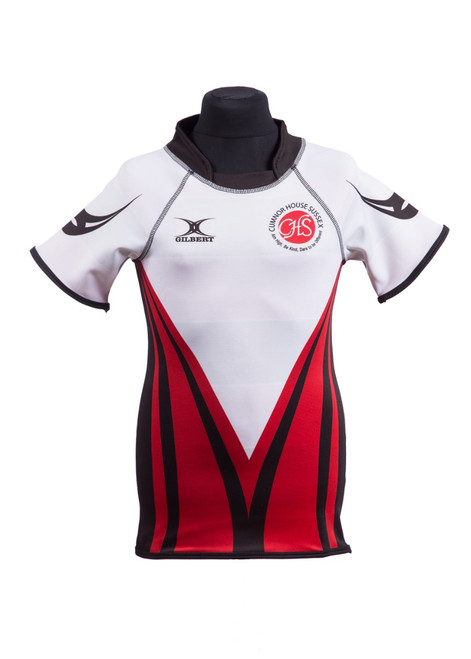 Cumnor House - White house rugby shirt (42189)