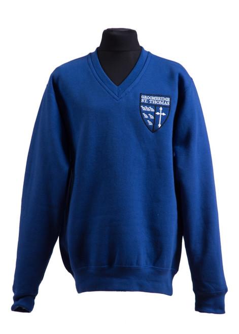 Groombridge St Thomas v-neck sweatshirt (42994)