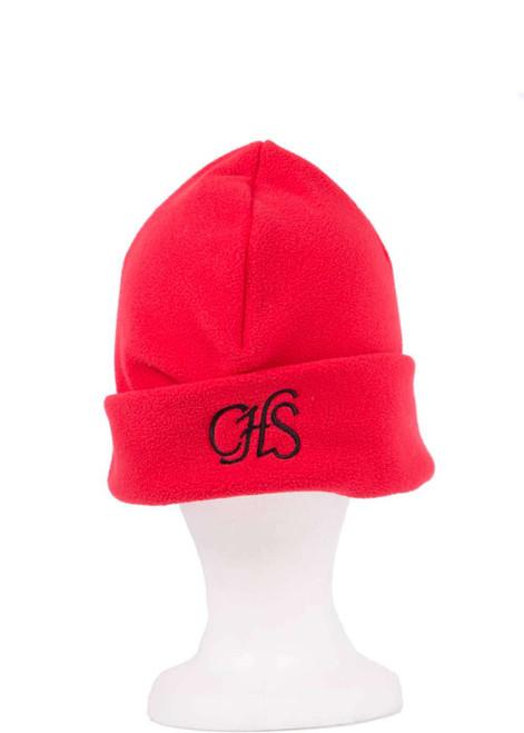 Cumnor House red fleece hat (31244)