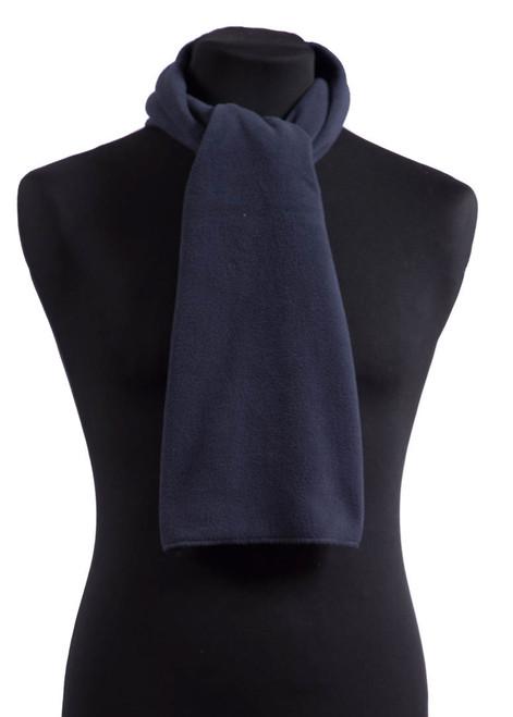 Navy fleece scarf (31595)