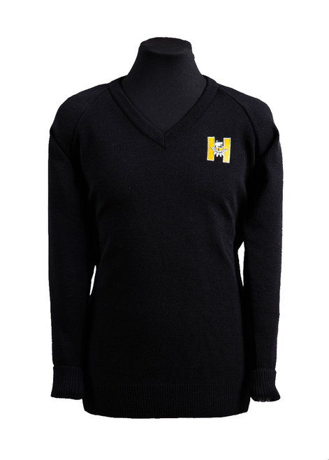 Hayesbrook black jumper - Yrs 10 & 11 (36209)