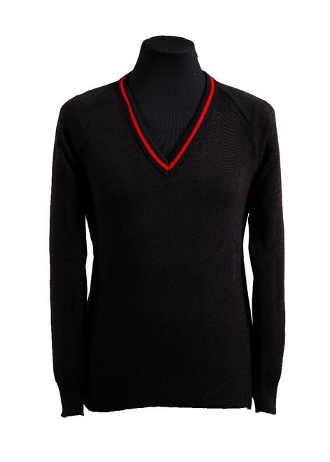 Skinners Kent Academy v-neck jumper (36248)