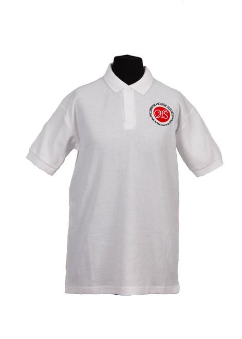 Cumnor House white polo shirt (37213)